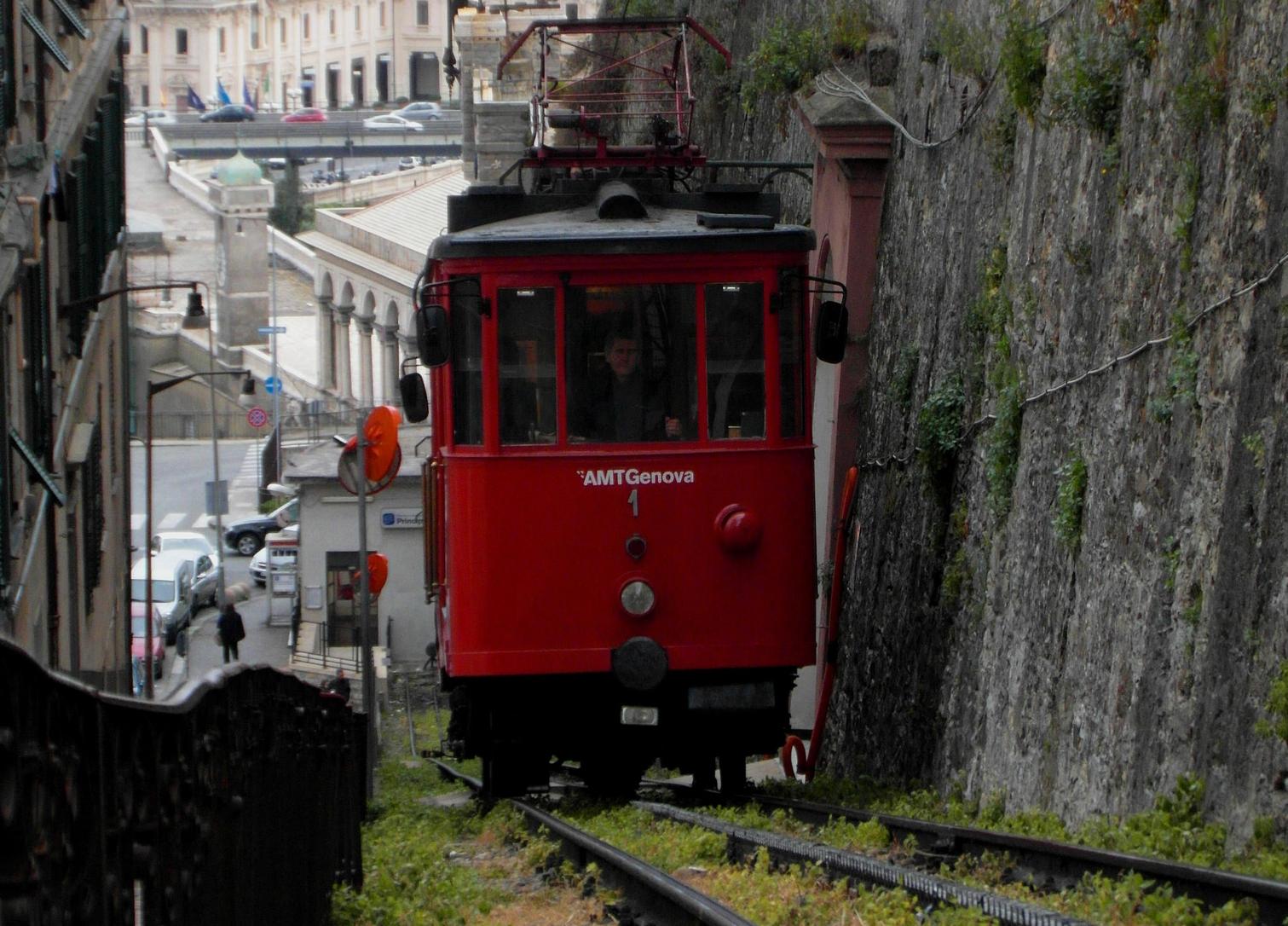 La cremagliera di Genova