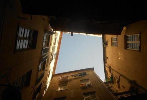 Genova piazza Amor Perfetto